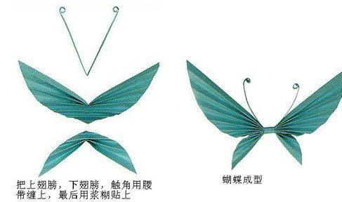 折纸diy:漂亮蝴蝶三种折法