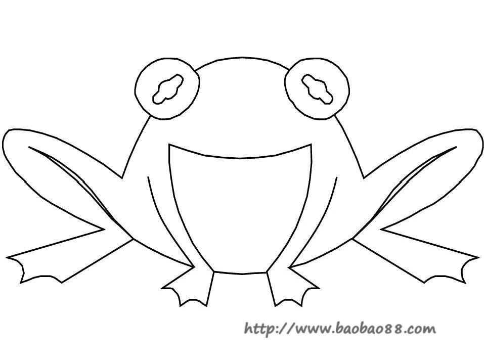 青蛙妈妈头饰简笔画
