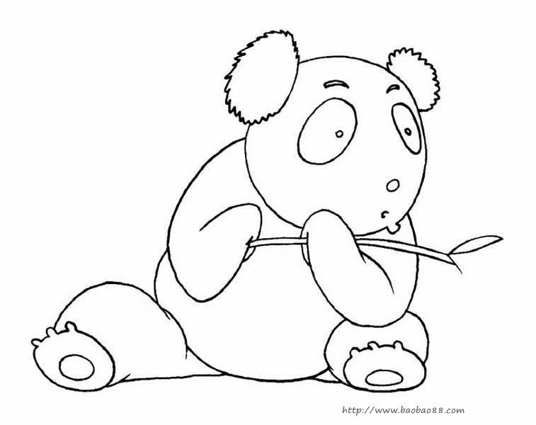 14张可爱的q版动物的简笔画
