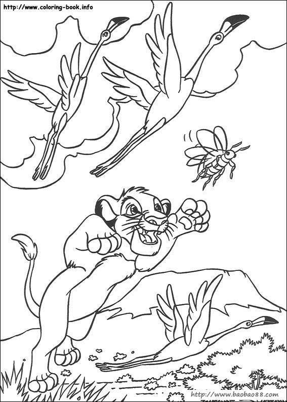 狮子王动画涂色卡[108p]