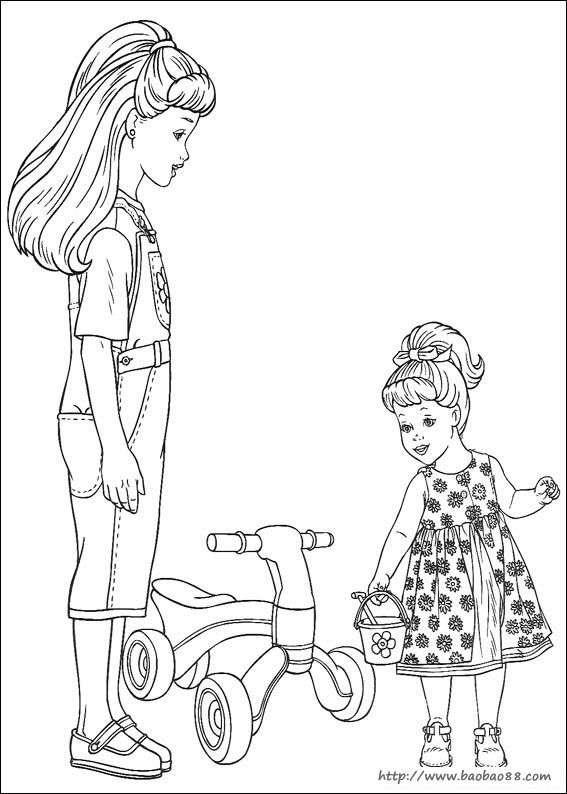 简笔画大全侧面,侧面人物简笔画,小女孩侧面简笔画 .