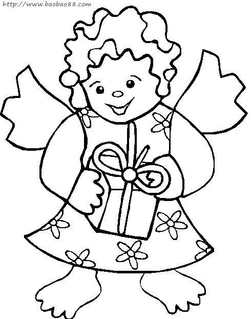 小天使||卡通小猪简笔画大全||小鸭子头饰简笔画大全