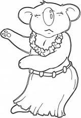 可爱的考拉简笔画3