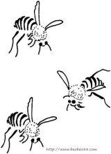 蜜蜂简笔画6