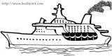 帆船轮船简笔画5