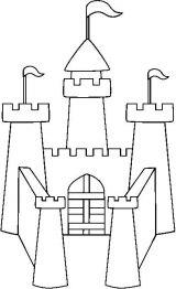 城堡简笔画6