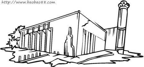 简笔画——房子house