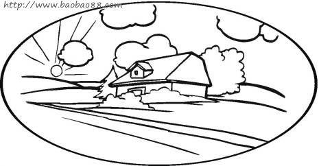 房子简笔画 - 李想 - 安康家园--教育部独家合作