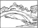 桥梁隧道简笔画2