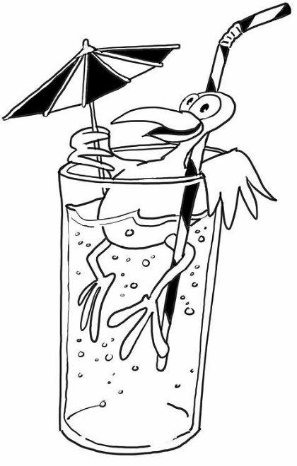 茶,饮料简笔画2
