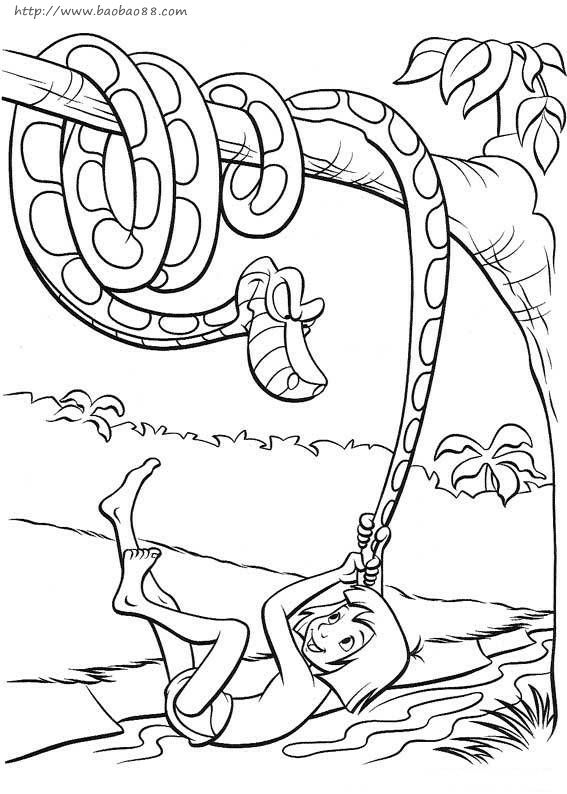 森林主题的简笔画3