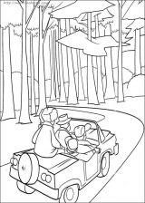 森林主题的简笔画4