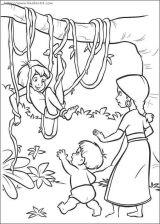 森林主题的简笔画10
