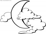 月亮主题简笔画1