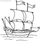 帆船简笔画5