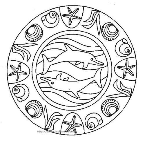 三只海豚小动物简笔画图片