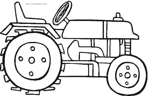 火车简笔画[24p]_交通工具简笔画(涂色图片)