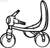 自行车简笔画6