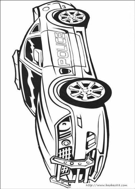 变形金刚填色图[10p]_卡通动漫简笔画(涂色图片)