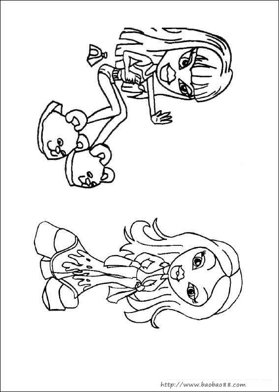 可爱卡通食物简笔画