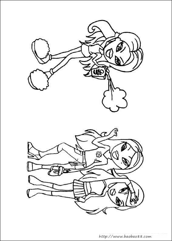 洋娃娃简笔画图片大全|简笔娃娃图片大全可爱|如何教小孩画简笔画