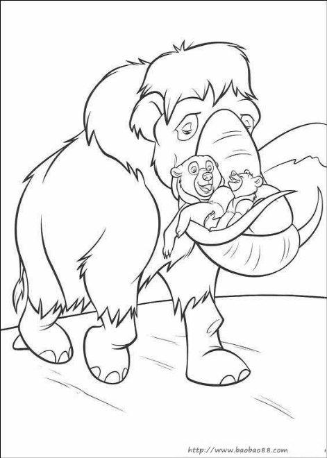 熊的传说2简笔画[20p]