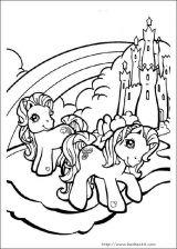 我的小小马填色图