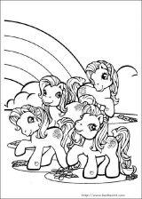 我的小小马填色图4