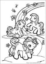 我的小小马填色图6