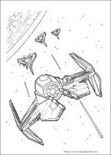 星球大战填色图3