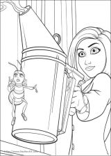 蜜蜂总动员(Bee Movie)填色图