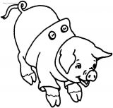 猪简笔画2