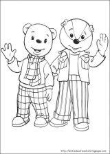 Rupert Bear小熊涂色图3