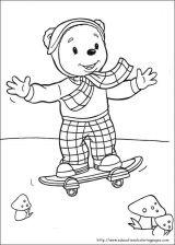 Rupert Bear小熊涂色图6