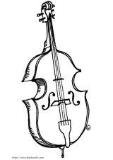 各种乐器简笔画4