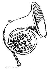 各种乐器简笔画5