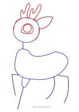 学画小鹿3