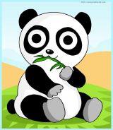 学画大熊猫1