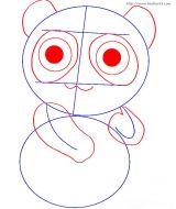 学画大熊猫3