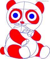 学画大熊猫6