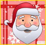 学画圣诞老人