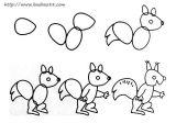 学画小松鼠2