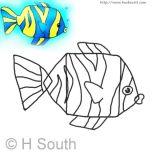 学画热带鱼4