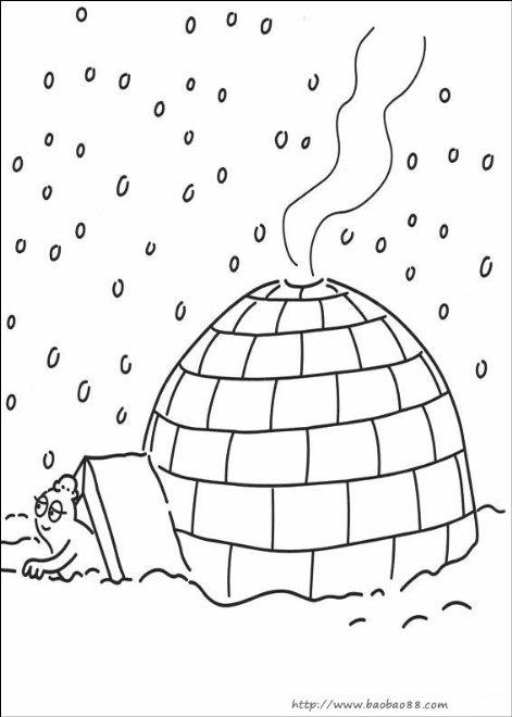 巴巴爸爸涂色[10p]_卡通动漫简笔画(涂色图片)