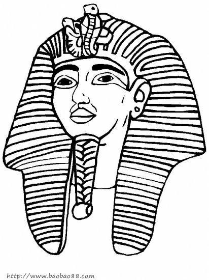 埃及手抄报简笔画