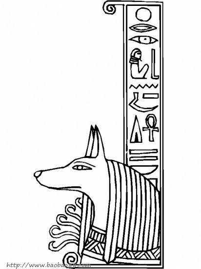 埃及特色简笔画12