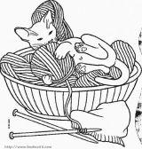 小猫简笔画5