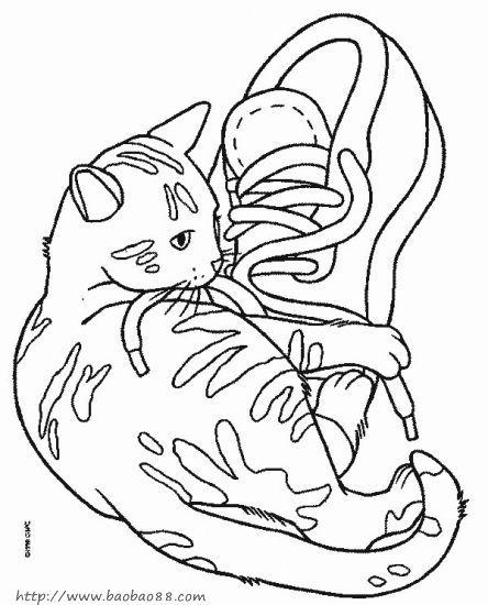 小猫简笔画8