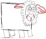 教你画羊6