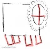 教你画羊3